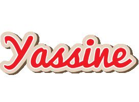 Yassine chocolate logo