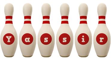 Yassir bowling-pin logo