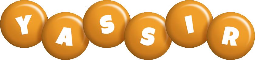 Yassir candy-orange logo