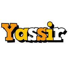 Yassir cartoon logo