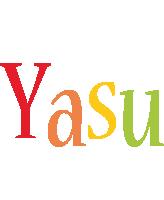 Yasu birthday logo