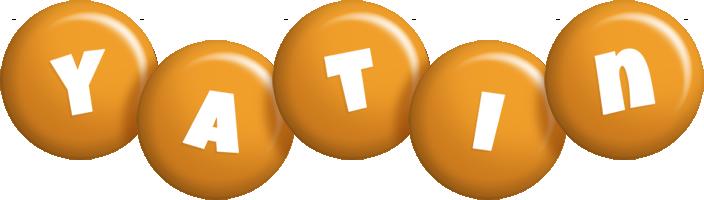 Yatin candy-orange logo