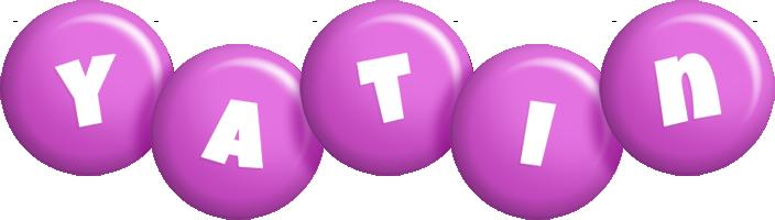 Yatin candy-purple logo