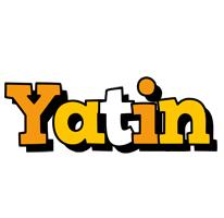 Yatin cartoon logo