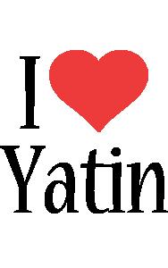 Yatin i-love logo