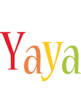 Yaya birthday logo