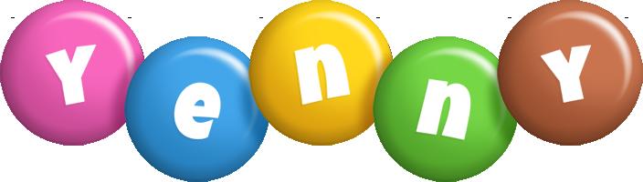 Yenny candy logo