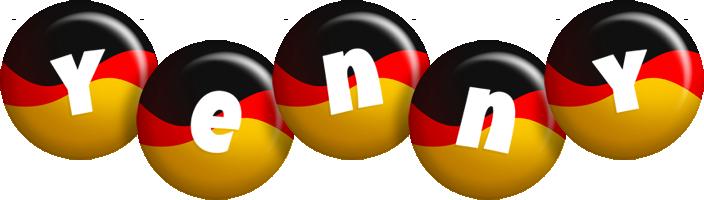 Yenny german logo