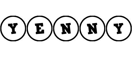 Yenny handy logo