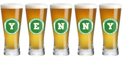 Yenny lager logo
