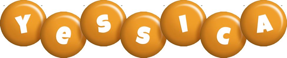 Yessica candy-orange logo