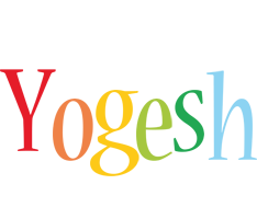 Yogesh birthday logo