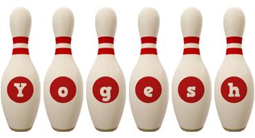 Yogesh bowling-pin logo