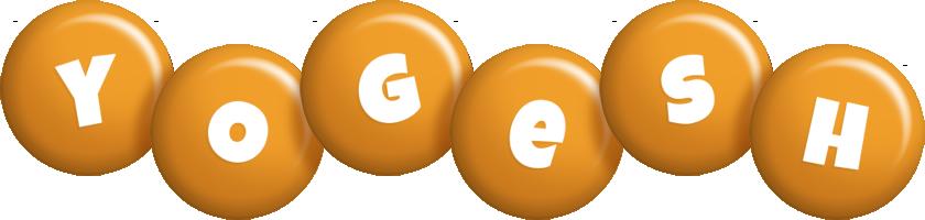 Yogesh candy-orange logo