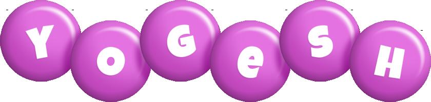 Yogesh candy-purple logo