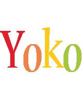 Yoko birthday logo