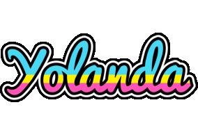 Yolanda circus logo