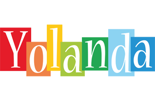 Yolanda colors logo