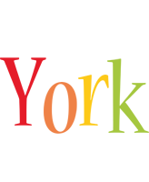 York birthday logo