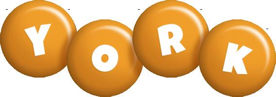 York candy-orange logo