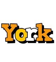 York cartoon logo