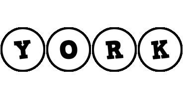 York handy logo