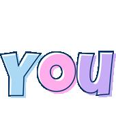 You pastel logo