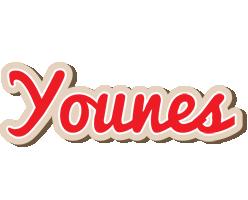 Younes chocolate logo