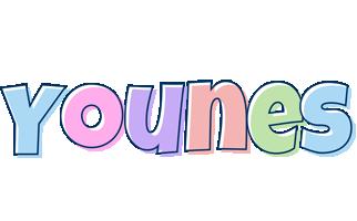 Younes pastel logo