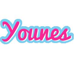 Younes popstar logo