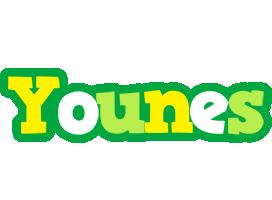 Younes soccer logo