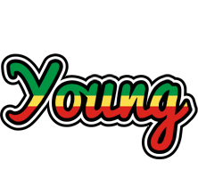 Young african logo