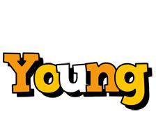 Young cartoon logo