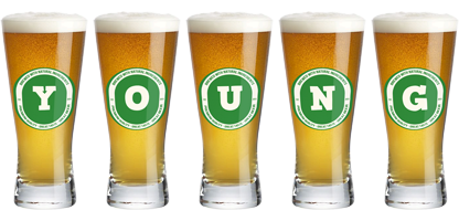 Young lager logo