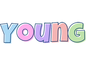 Young pastel logo