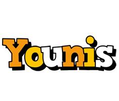 Younis cartoon logo