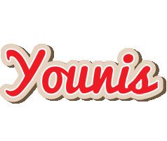 Younis chocolate logo