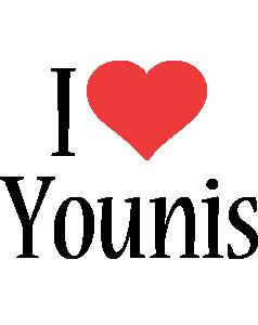 Younis i-love logo