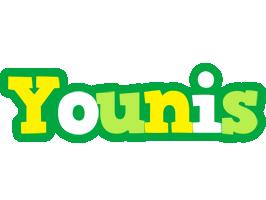 Younis soccer logo