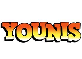 Younis sunset logo