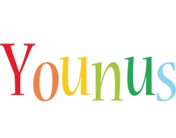 Younus birthday logo