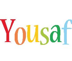 Yousaf birthday logo