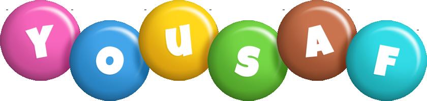 Yousaf candy logo