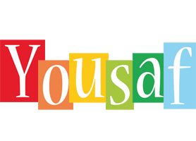 Yousaf colors logo