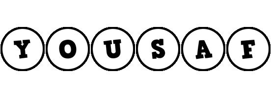 Yousaf handy logo