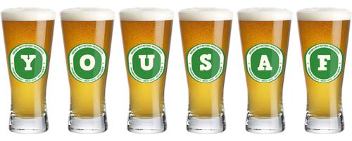 Yousaf lager logo