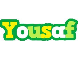 Yousaf soccer logo
