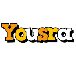 Yousra cartoon logo