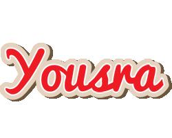 Yousra chocolate logo
