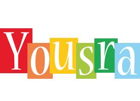 Yousra colors logo